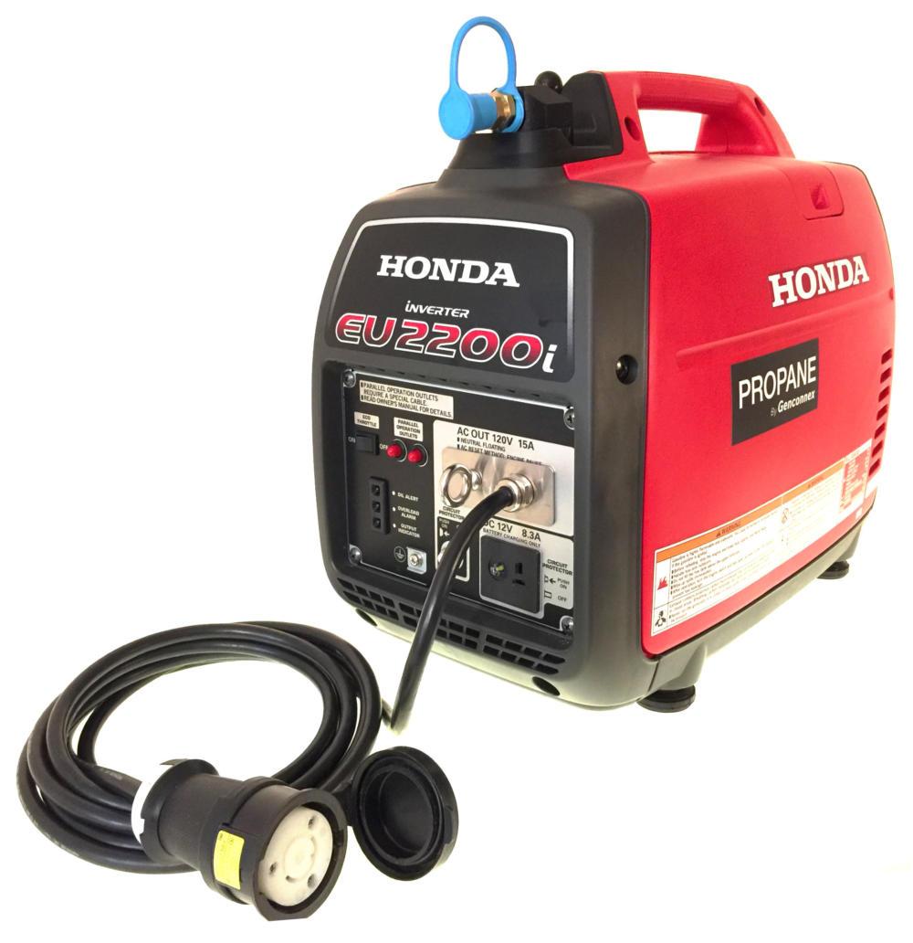 Propane and Natural Gas Honda Generators