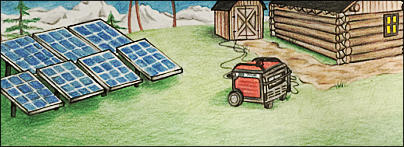 Off-Grid Generator Packages on off grid tools, off grid blueprints, off grid electrical systems, off grid lighting, off grid air conditioning, off grid battery,