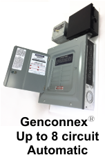Genconnexy Up to 8 circuit  Automatic