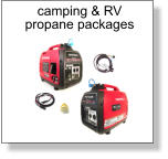 camping & RV propane packages