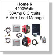 Home 6 4400Watts 30Amp 6 Circuits Auto + Load Manage