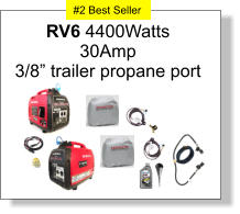 "RV6 4400Watts 30Amp 3/8"" trailer propane port #2 Best Seller #2 Best Seller"
