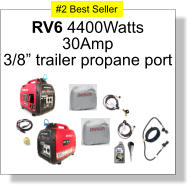 "RV6 4400Watts 30Amp 3/8"" trailer propane port #2 Best Seller"